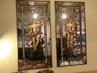 Pair of mirror French  1940